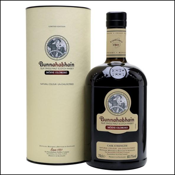Bunnahabhain Moine Oloroso Sherry Cask 70cl 60.1%
