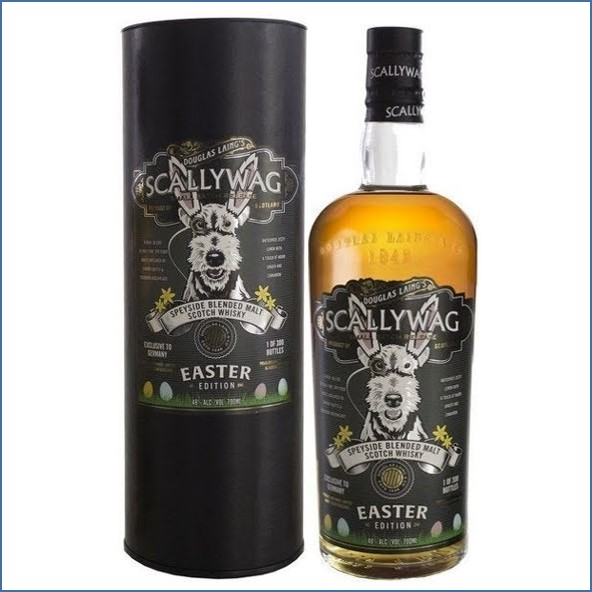 Scallywag Easter Edition 2018 No.2  Germany Exclusive 70cl 48%