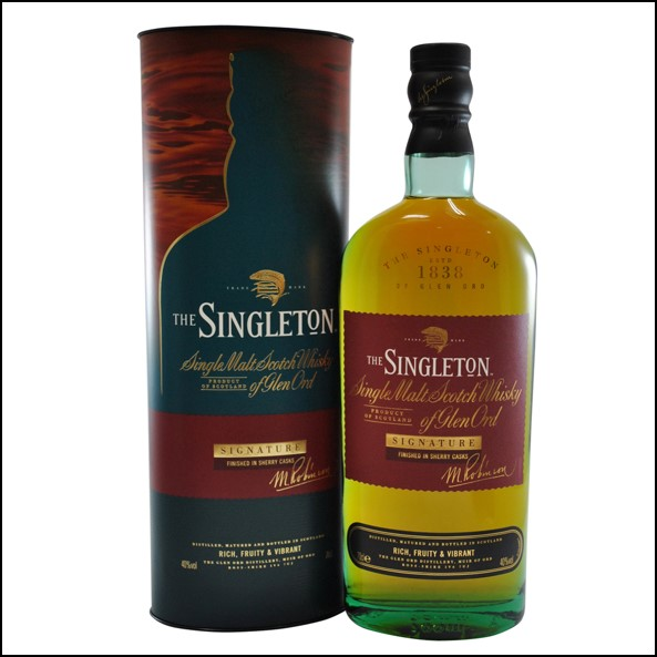 The Singleton of Glen Ord Signature Sherry Cask 70cl 40% 蘇格登大師精選雪莉桶版收購