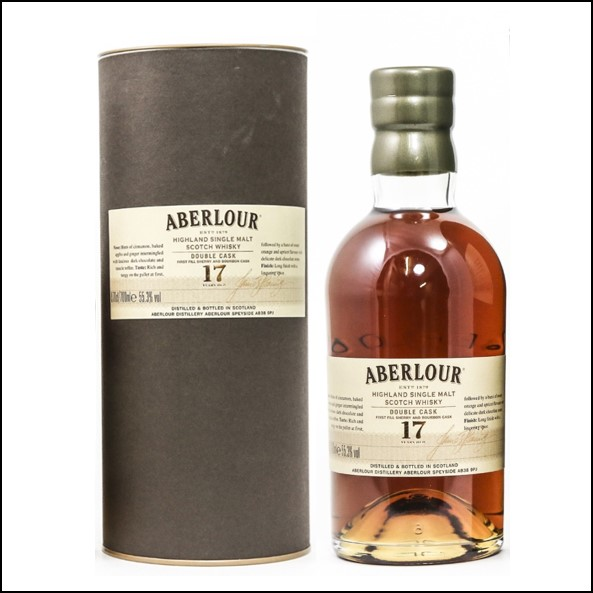 Aberlour 17 Year Old Double Cask Whisky 70cl 55.3% 收購亞伯樂17年 雙桶
