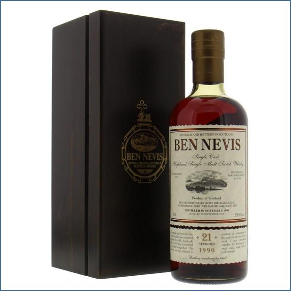 Ben Nevis 21 Years Old 1990 70cl 59.8%