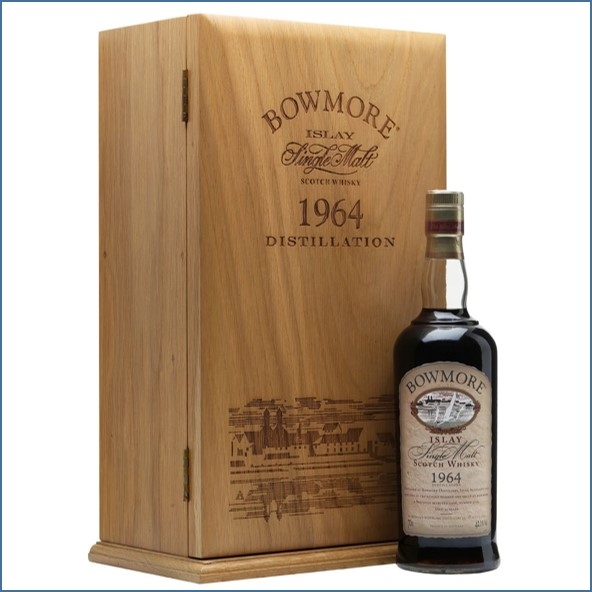 Bowmore 35 Year Old  1964 Sherry Cask 70cl 42.1%