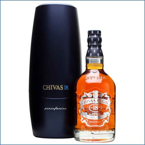 Chivas Regal 18 Year Old Pininfarina Level 1 Blended Scotch Whisky 70cl 40%