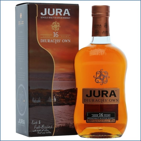 Isle Of Jura 16 Year Old - Diurachs' Own 70cl 40%