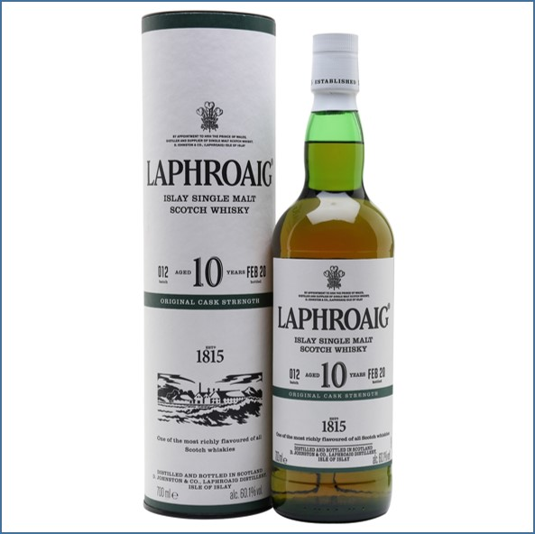 拉佛格10年原酒收購 Laphroaig 10 Year Old Cask Strength Batch 012 Bot.2020 70cl 60.1%
