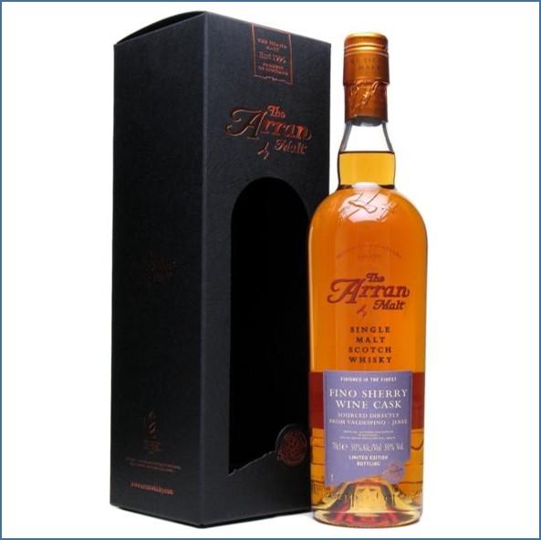 Arran 8 Year Old Fino Sherry Wine Finish Island Single Malt Scotch Whisky 70cl 50%
