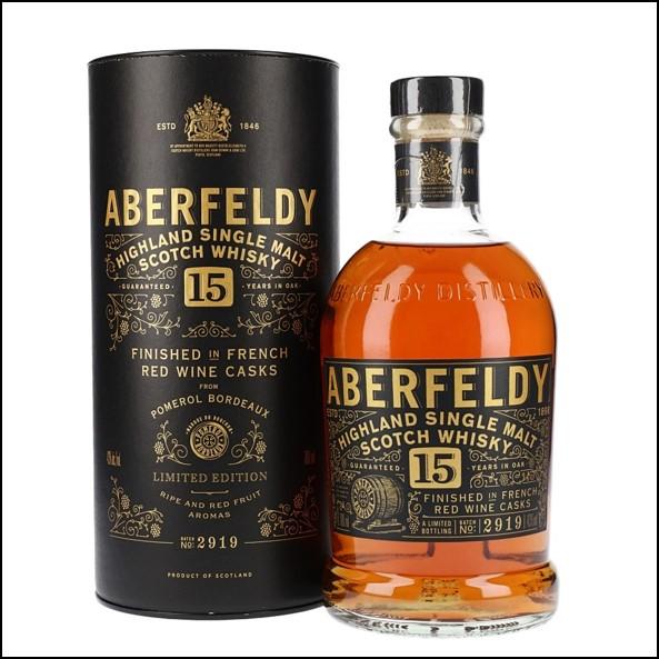 Aberfeldy 15 Year Old French Red Wine Cask Finish 70cl 43% 收購艾伯迪15年