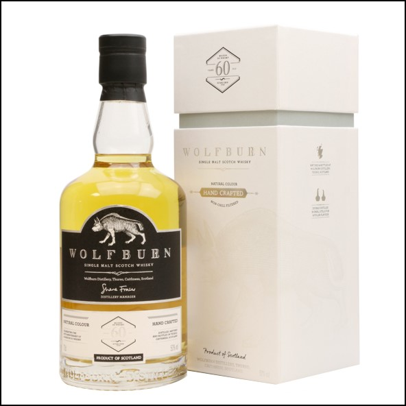 Wolfburn 3 years old A Little Something Different LMDW 60th Anniversary 2013-2016 70cl 50%