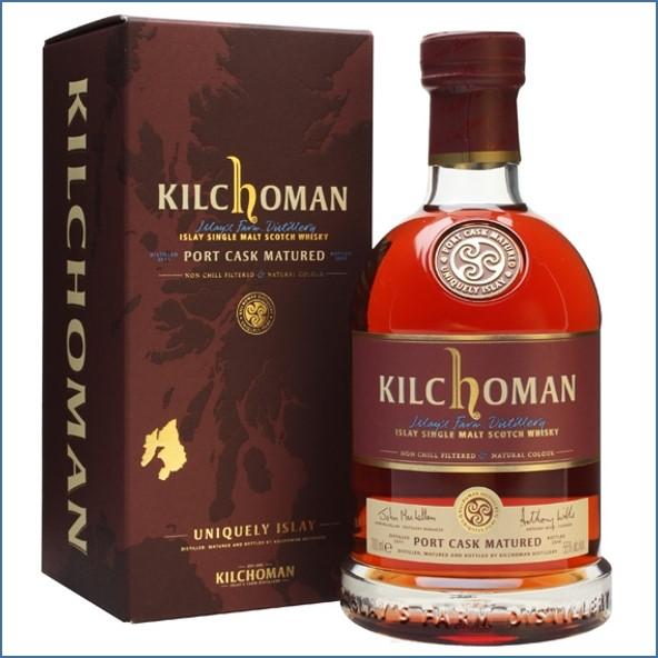 Kilchoman 2014 3 Year Old Port Cask Matured 2011 70cl 55%
