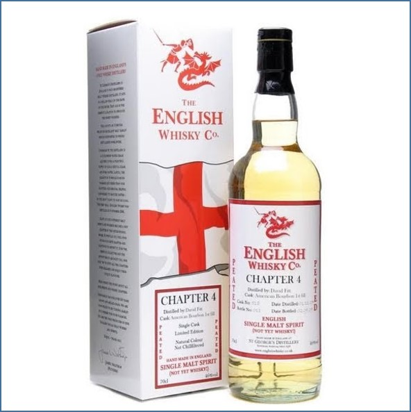 English Whisky Co. Chapter 4  70cl 46%