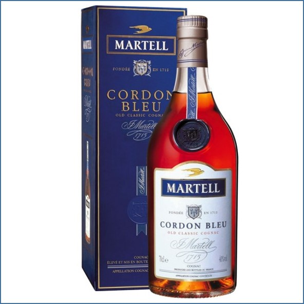 馬爹利收購 藍帶白瓶  CORDON BLEU