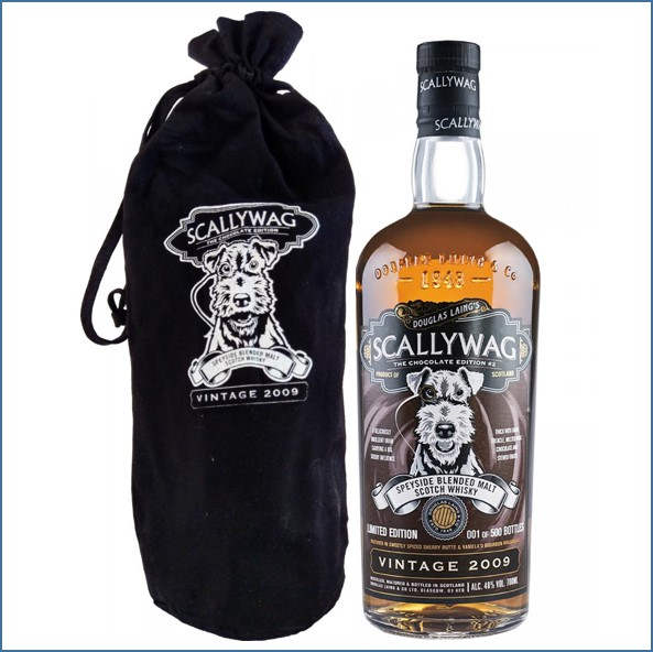 Scallywag 9 Year Old The Chocolate Edition #1  2009-2018 70cl 48%