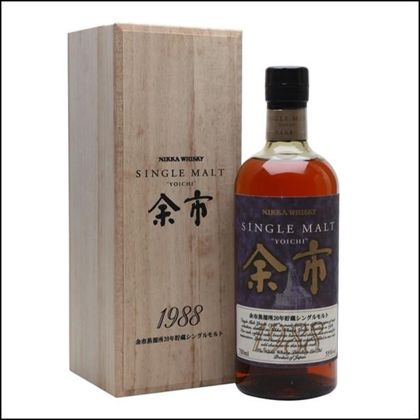 余市威士忌1988