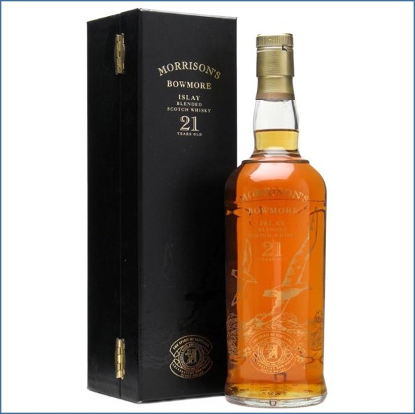 Bowmore 21 Year Old - 500th Anniversary 70cl 43%