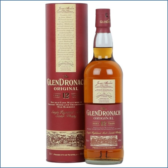 Glendronach 12 Year Old  Origina Old Bottling 70cl 43%