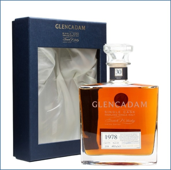 Glencadam 30 Year Old 1978 Cask #2335 70cl 46%