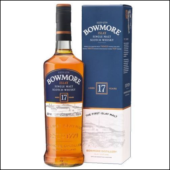 Bowmore 17 Year Old 75cl 43%