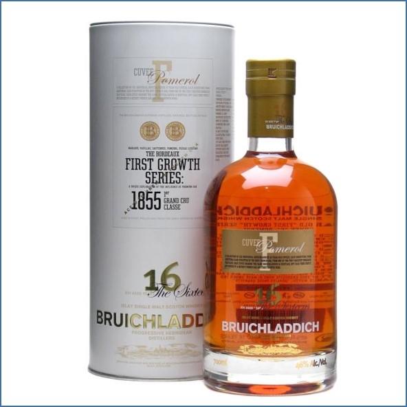 Bruichladdich 16 Year Old First Growth Pomerol Finish 70cl 46%