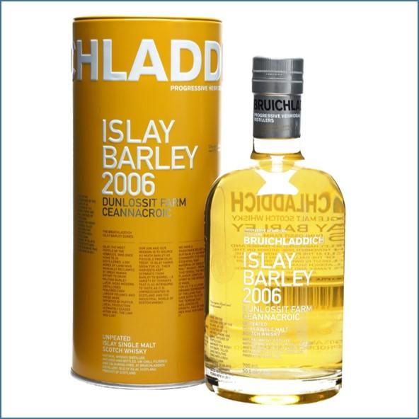 布萊迪收購Bruichladdich Islay Barley 2006 70cl 50%