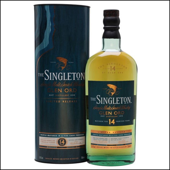 The Singleton of Glen Ord 14-year-old Special Releases 2018 70cl 57.6% 蘇格登14年原酒