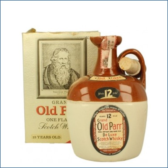 Old Parr 12 Year Old Bot.1980's 75cl 40%