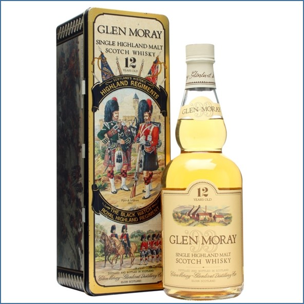 Glen Moray 12 Year Old Highland Regiments 70cl 40%