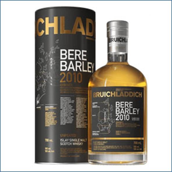 布萊迪收購 Bruichladdich Bere Barley 2010 Islay Barley 70cl 50%