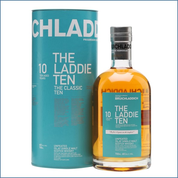 布萊迪收購 Bruichladdich 10 Year Old The Laddie Ten 70cl 46%