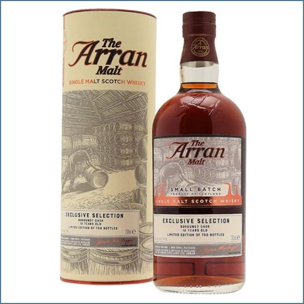 Arran 12 Year Old Small Batch 2006-2018 Burgundy Cask 70cl 53.6%