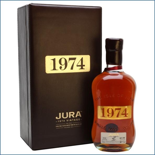 Isle of Jura 1974 30 Year Old Island Single Malt Scotch Whisky 70cl 44.5%