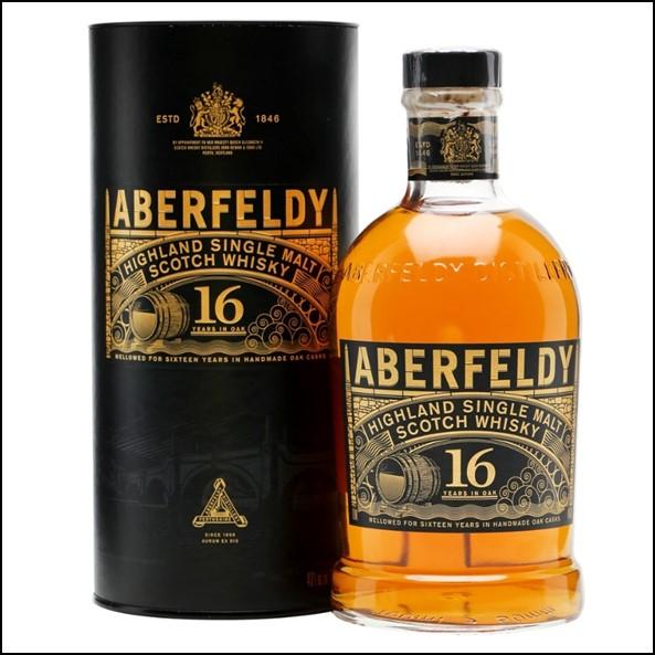 Aberfeldy 16 Year Old Single Malt Scotch Whisky 70cl 40.0% 收購艾伯迪16年