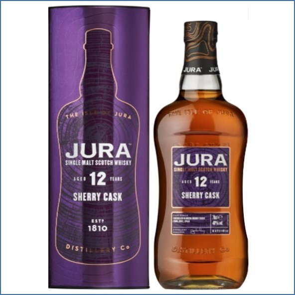 Isle of Jura 12 Year Old sherry cask 70cl 40%