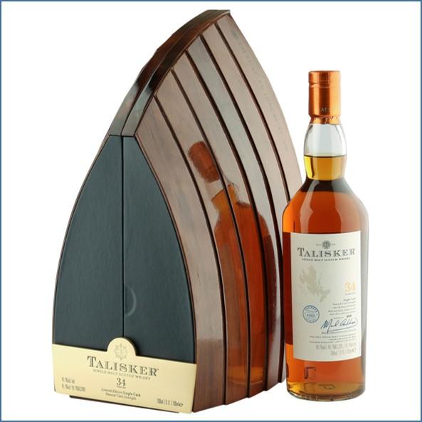 Talisker 34 Year Old Single Cask  Boat Cabinet 70cl 45.1%