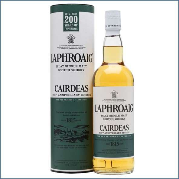 拉佛格收購 Laphroaig Cairdeas 2015 200th Anniversary 70cl 51.5%