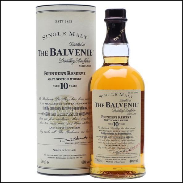 收購百富威士忌Balvenie 10 Year Old  Founder's Reserve 70cl 40%
