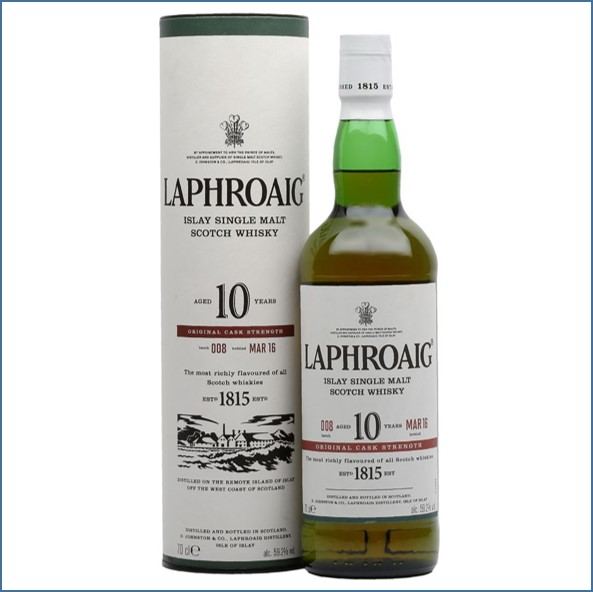 拉佛格10年原酒收購 Laphroaig 10 Year Old Cask Strength Batch 008 Bot.2016 70cl 59.2%