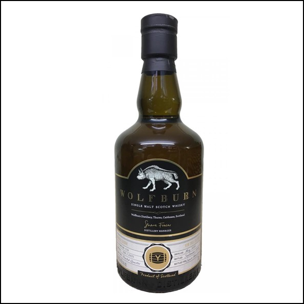 Wolfburn 3 years old Liquor Mountain 2015-2018 70cl 60.4%