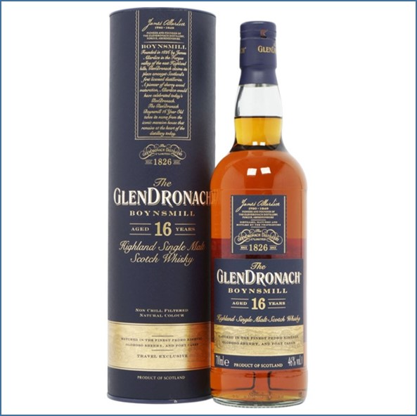 Glendronach 16 Year Old Boynsmill 70cl 46%