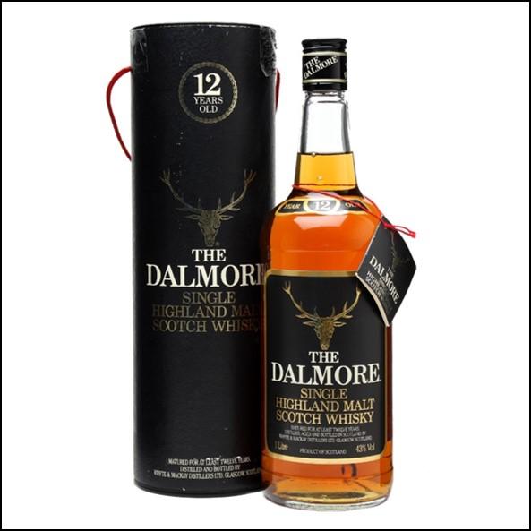 DALMORE 12 YEAR OLD Bot.1980s 75cl 43%  大摩12年威士忌收購1980s