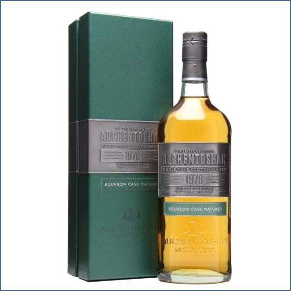 Auchentoshan 30 Year Old 1978 Bourbon Cask 70cl 53.4%