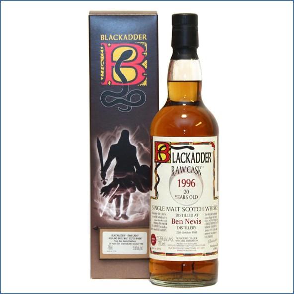 Ben Nevis 1996 20 Year Old 70cl 55.6%  Blackadder Raw Cask