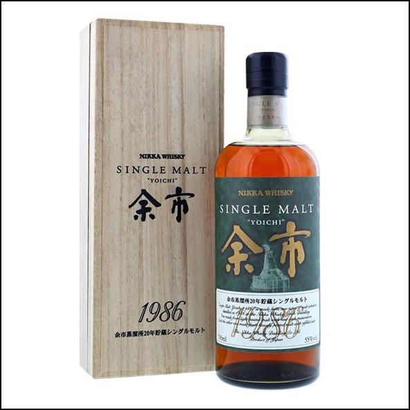 余市威士忌1986