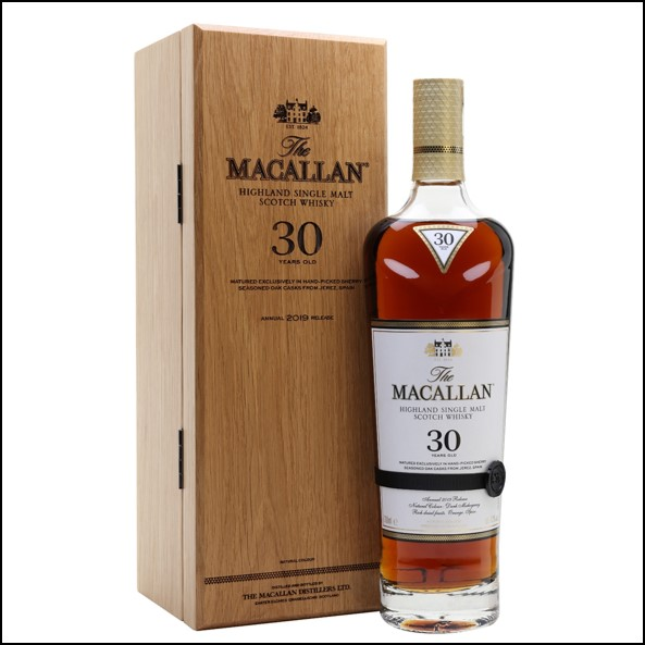 Macallan 30 Year Old Sherry Oak 2019 Release
