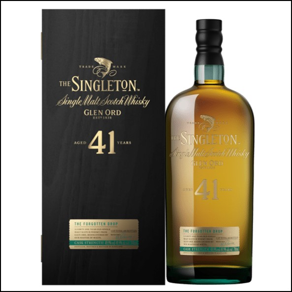 The Singleton of Glen Ord 41-year-old 2017 70cl 49.9% 蘇格登41年Glen Ord收購