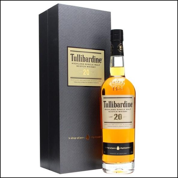 Tullibardine 20 Year Old 70cl 43%