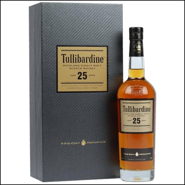 Tullibardine 25 Year Old 70cl 43%