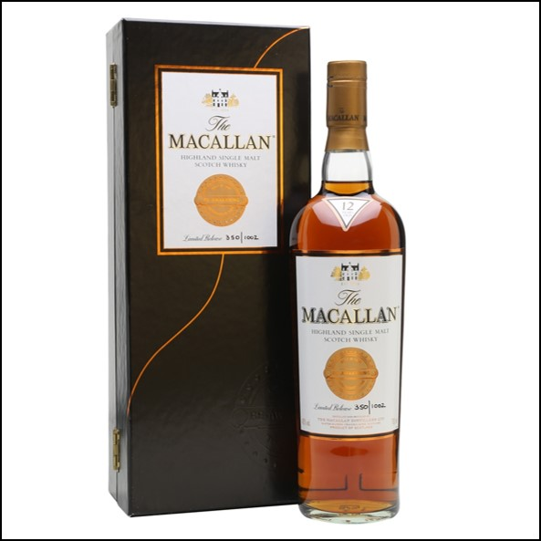 收購麥卡倫12年 喚醒/Macallan 12 Year Old Reawakening 70cl 43%