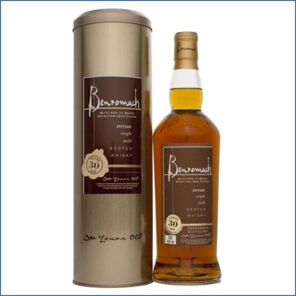 收購百樂門30年威士忌,百樂門30年威士忌收購, Benromach 30 years old 70cl  43%