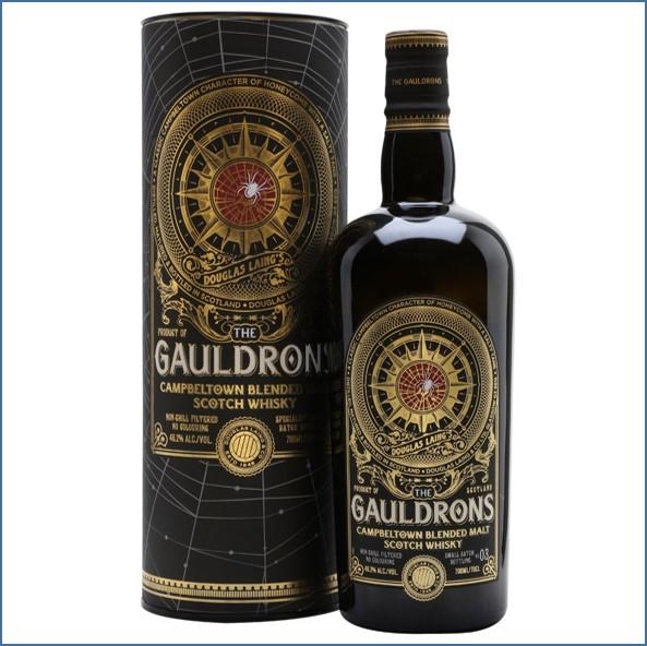 The Gauldrons Batch 3 Campbeltown Blended Malt Scotch Whisky Douglas Laing 70cl 46.2%