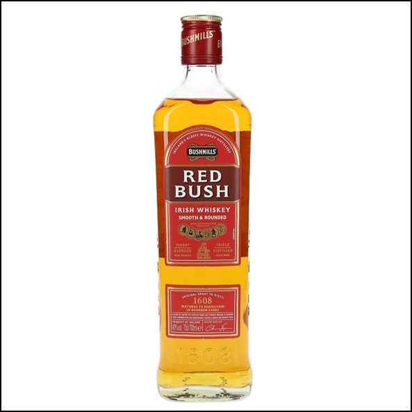 波希米爾愛爾蘭威士忌收購/Bushmills Red Bush Blended Irish Whiskey 70cl 40%